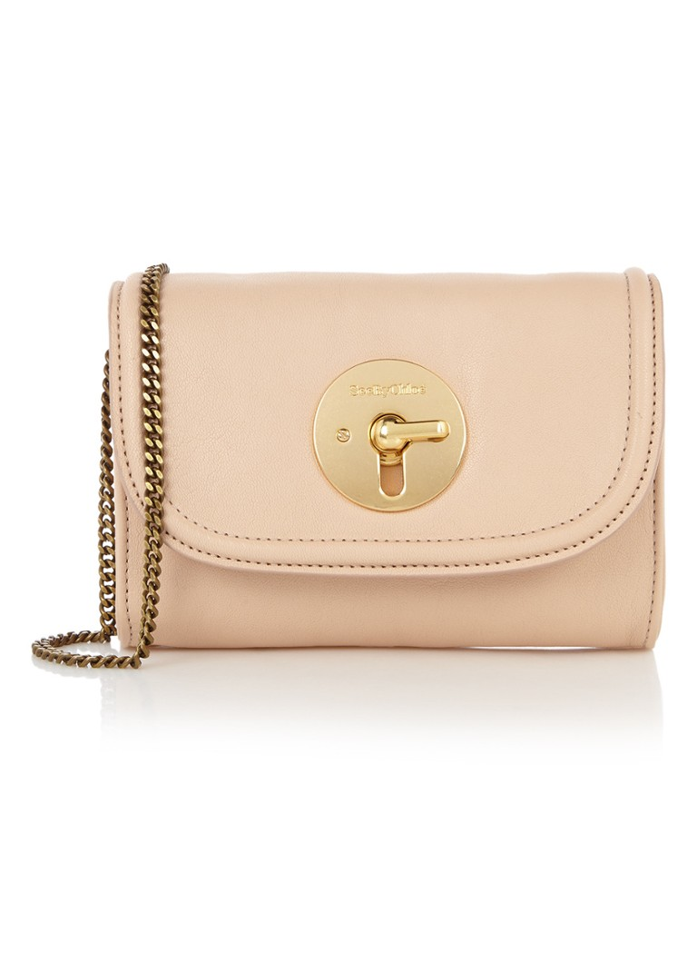 See By Chloé Lois Mini clutch van schapenleer