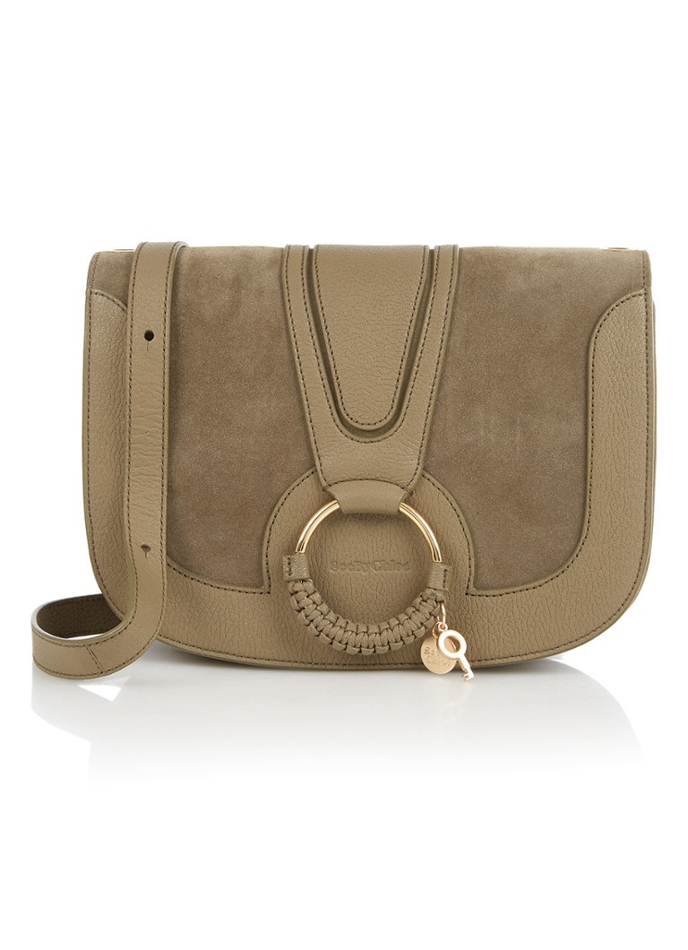 See By Chloé Hana Medium crossbodytas van geitenleer