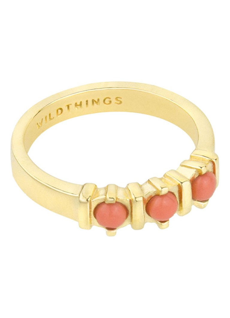 Wildthings Vintage Peach ring verguld kopen