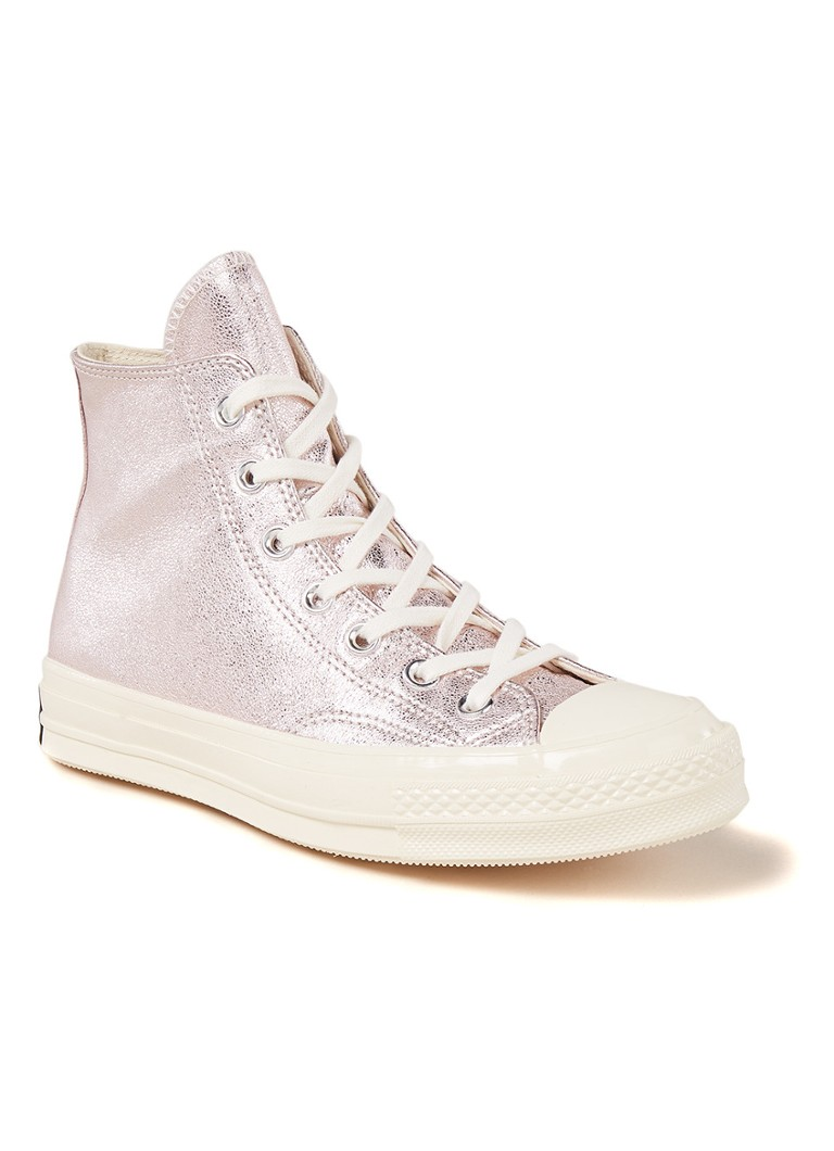 Converse Chuck 70 All Star Hi sneaker met metallic finish