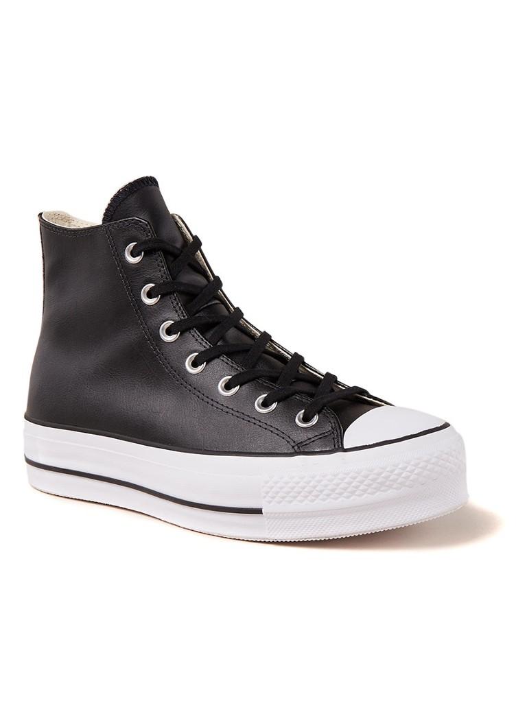 Converse All Star Lift Hi sneaker van leer