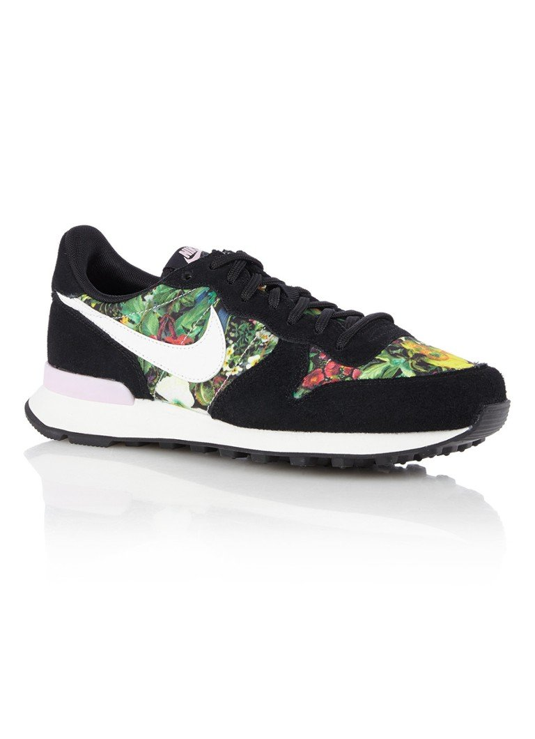 - Nike Internationalist sneaker met bloemendessin
