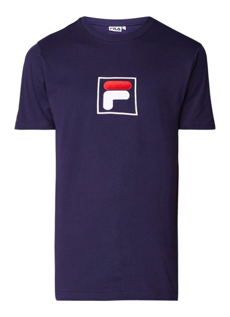 Fila Evan T-shirt met logoborduring