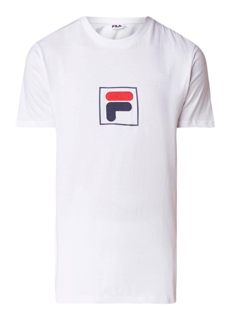 Fila Evan T-shirt met merkborduring