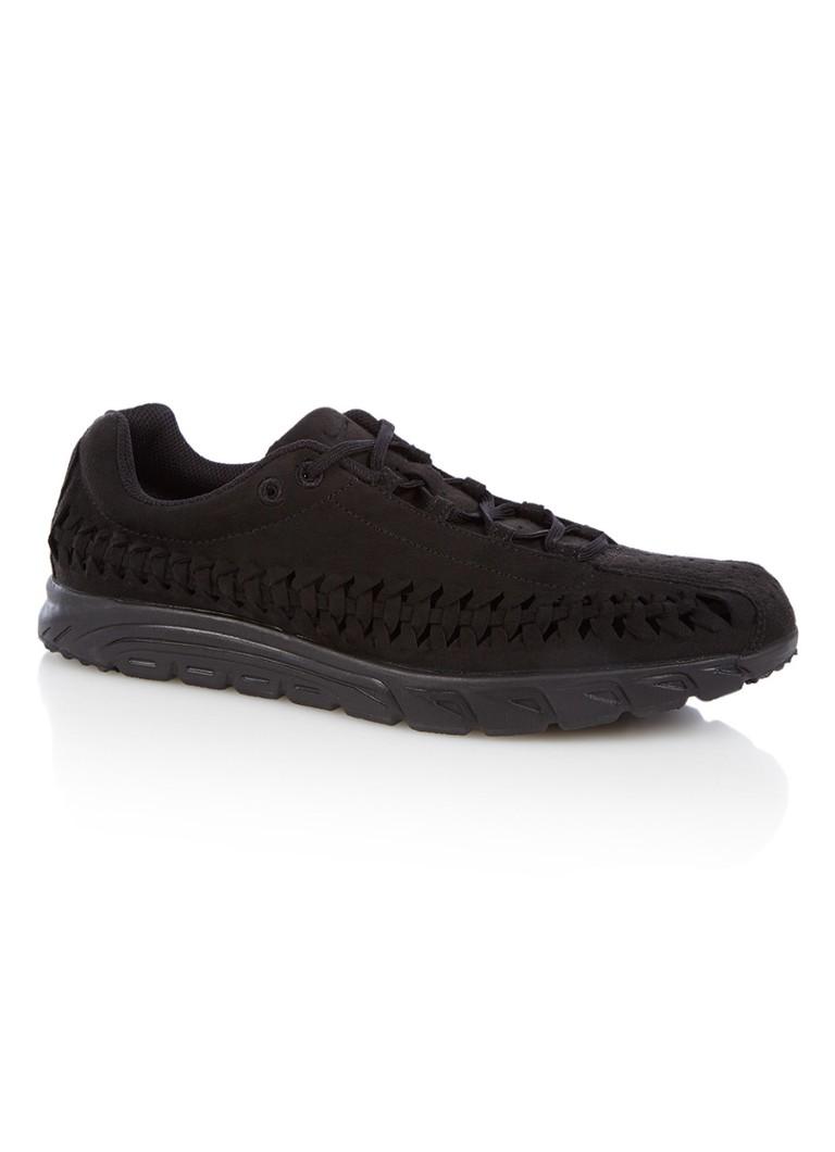 Nike Mayfly sneaker met geweven details Zwart