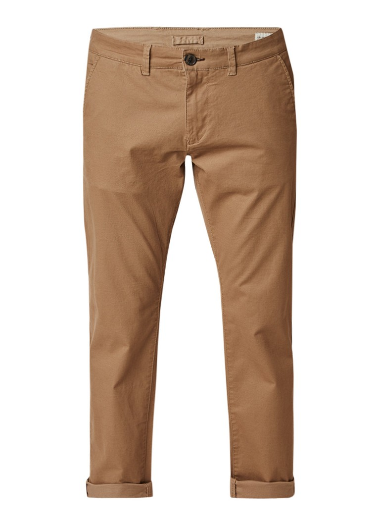 Selected Homme Three Paris regular fit chino met stretch