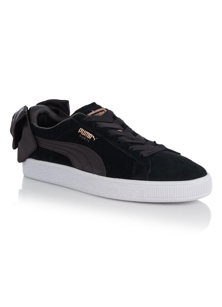 Puma Bow sneaker van suède