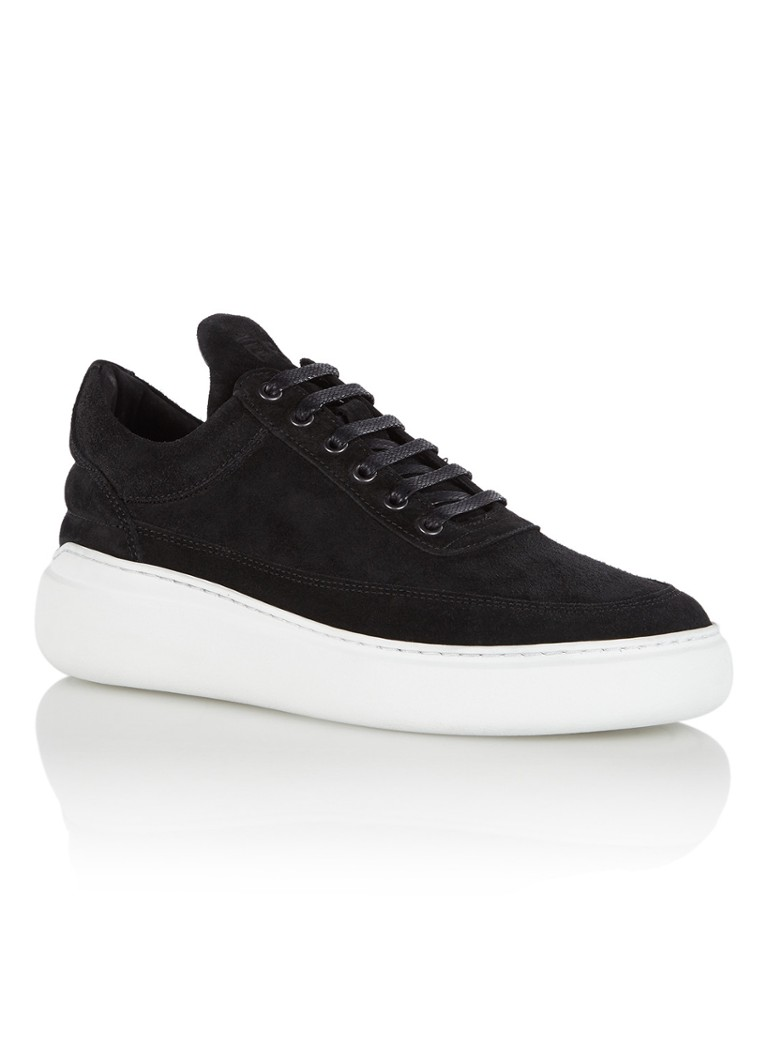 Filling Pieces Low Top damessneaker zwart