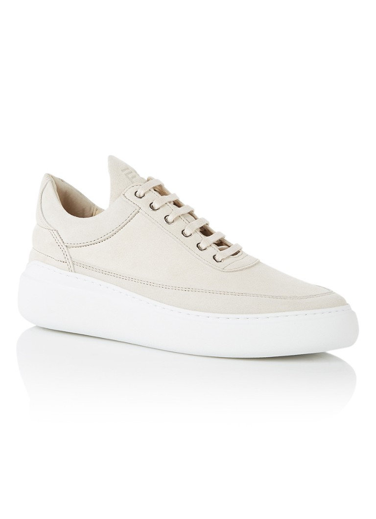 Filling Pieces Low Top damessneaker beige