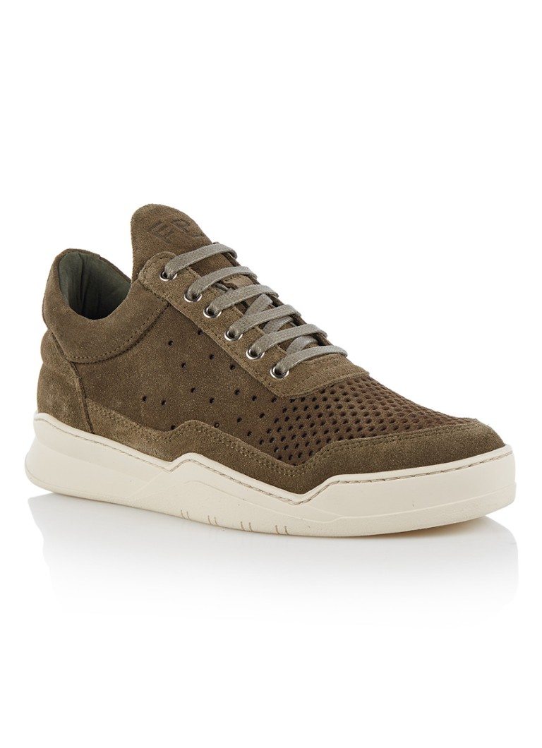 Filling Pieces Low Top Ghost damessneaker groen