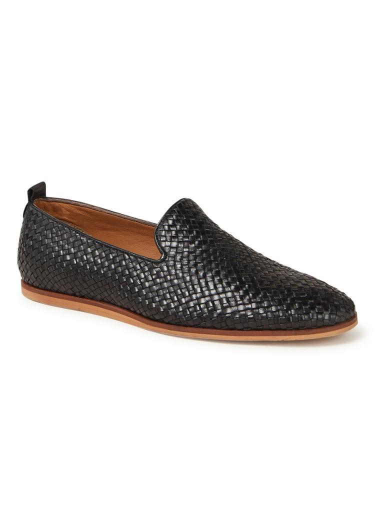 Bertie loafers met gevlochten detail