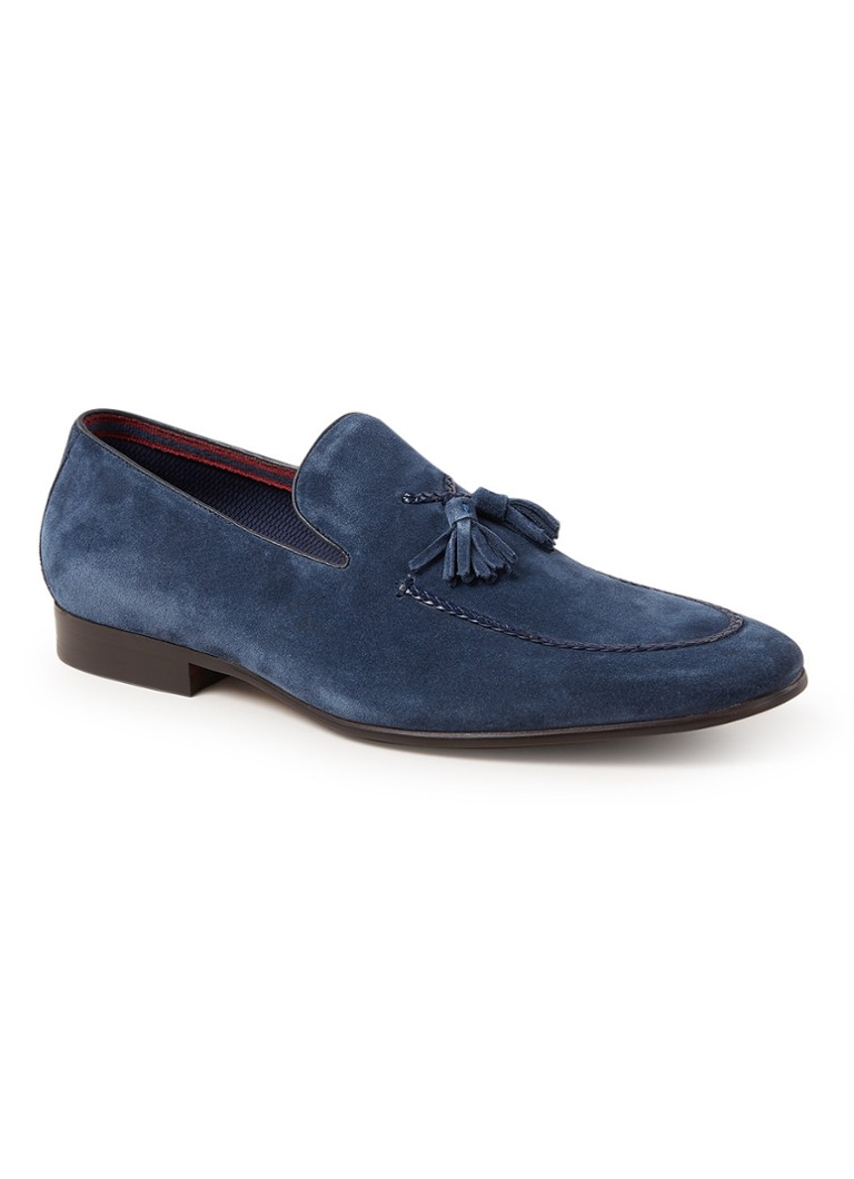 Dune London Spirited loafer van suède