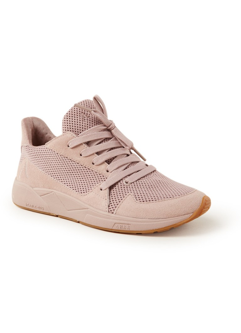ARKK Serinn Mesh S-E15 sneaker met suede details