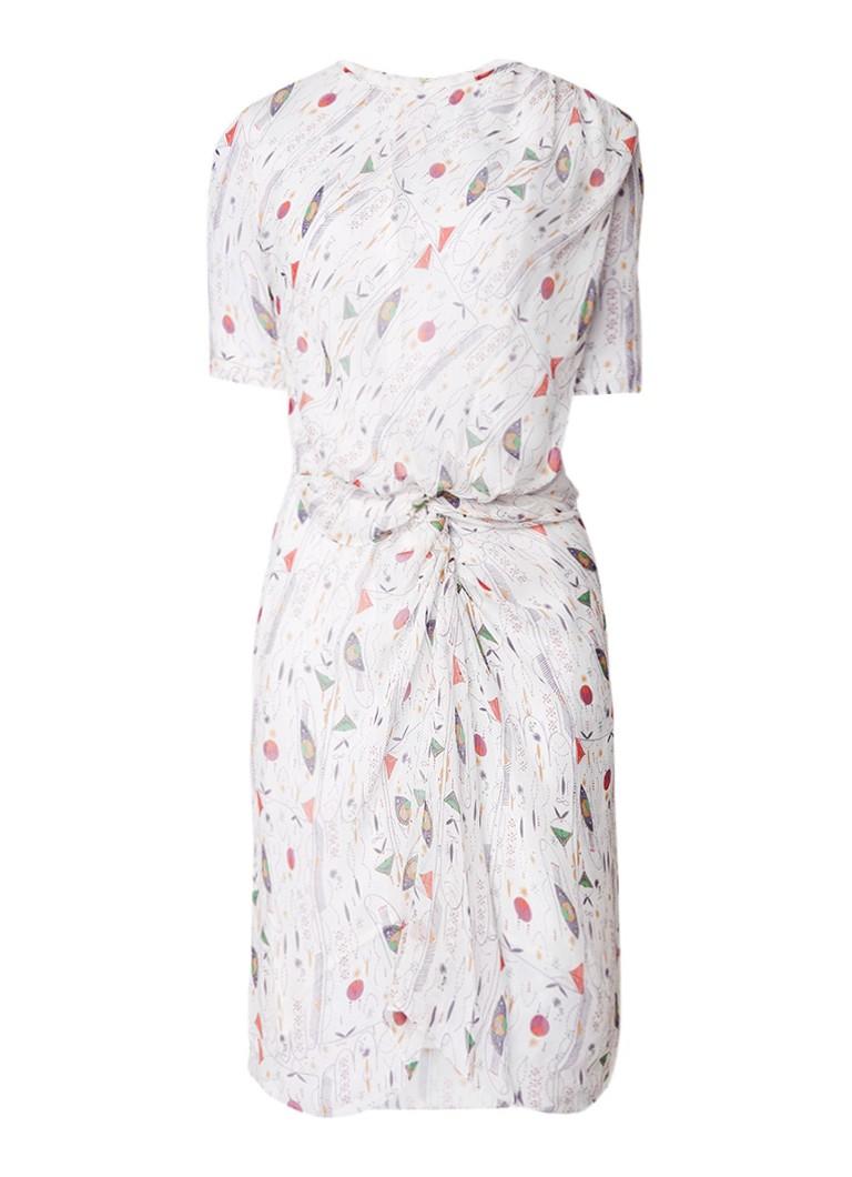 Isabel Marant Étoile Barden gedrapeerde midi-jurk van zijde