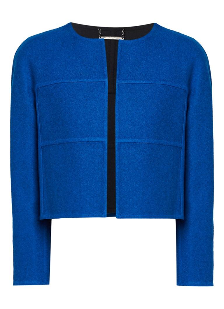 Diane von Furstenberg Sadira reversible blazer van wol multicolor