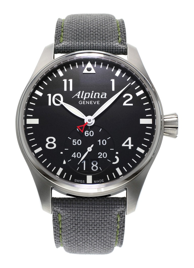 Alpina Horloge Startimer Pilot Quartz AL-280B4S6