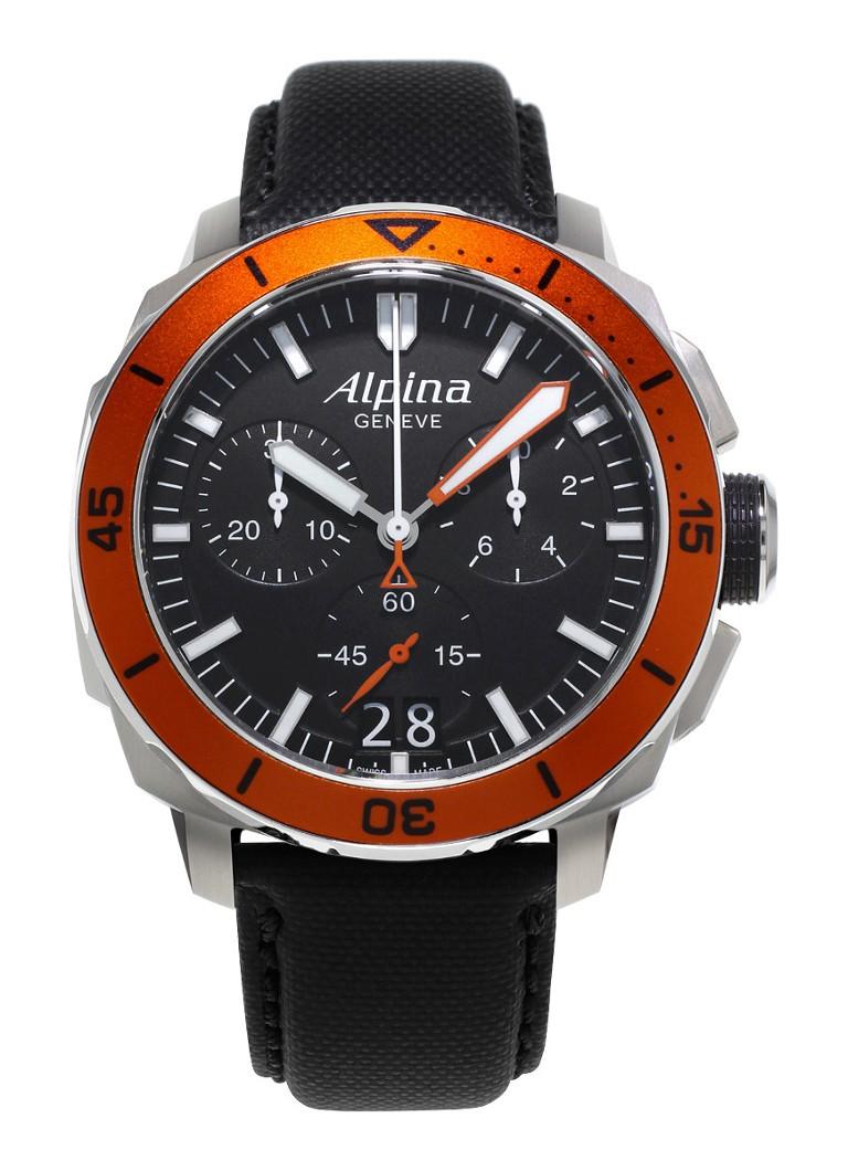 Alpina Horloge Seastrong Diver 300 Quartz AL-372LBO4V6