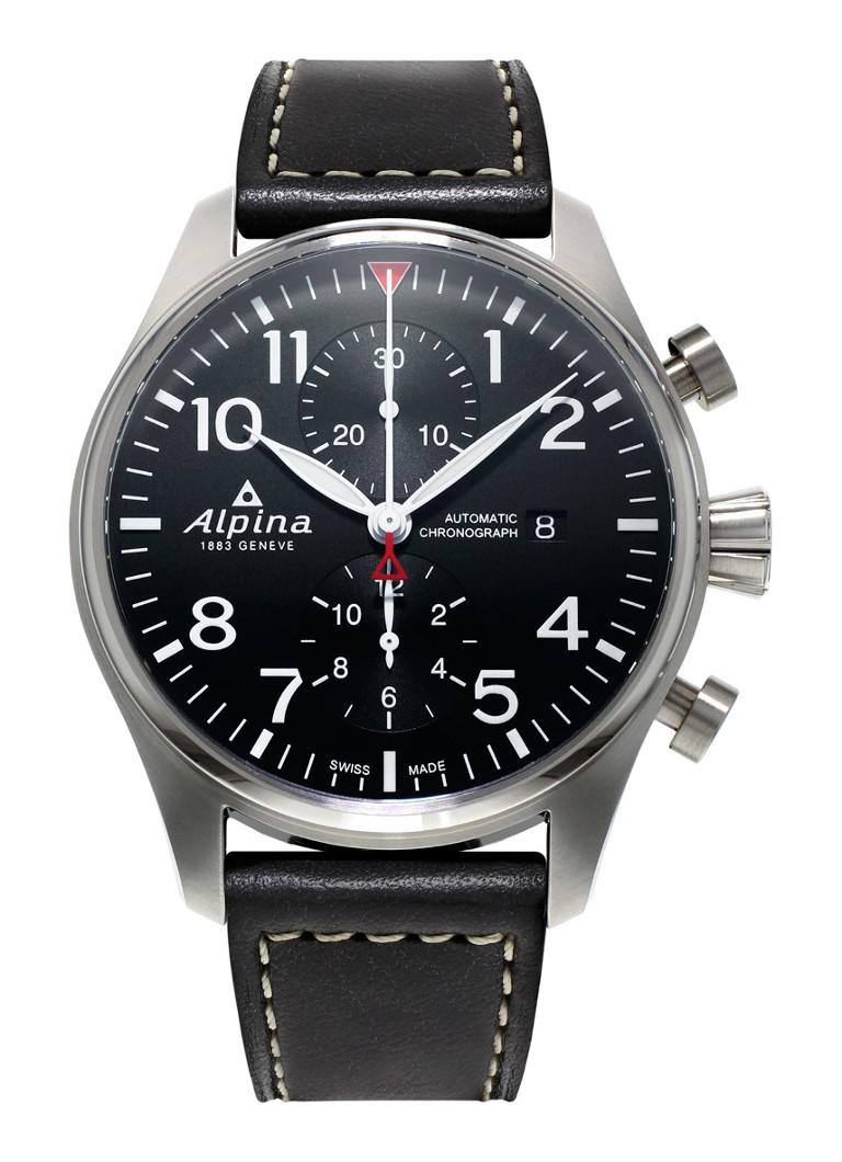 Alpina Horloge Startimer Pilot Automatic Chronograph AL-725B4S6