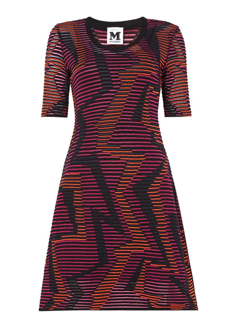 M Missoni Semitransparante jurk