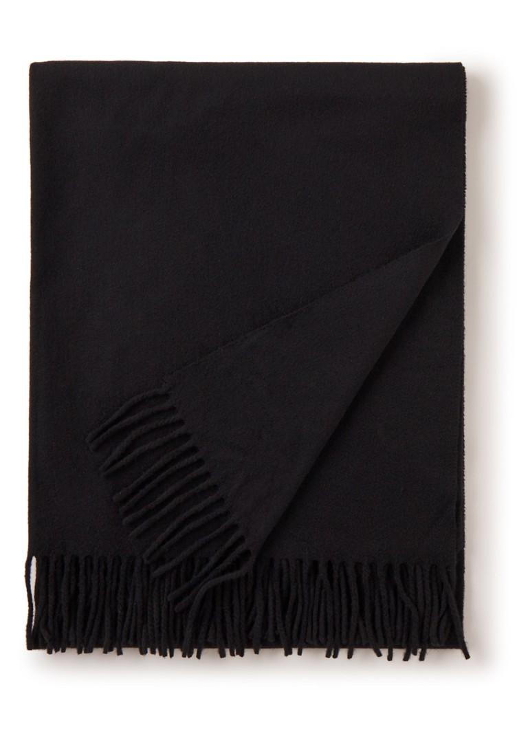 Acne Studios Canada sjaal van wol met franjes 200 x 70 cm