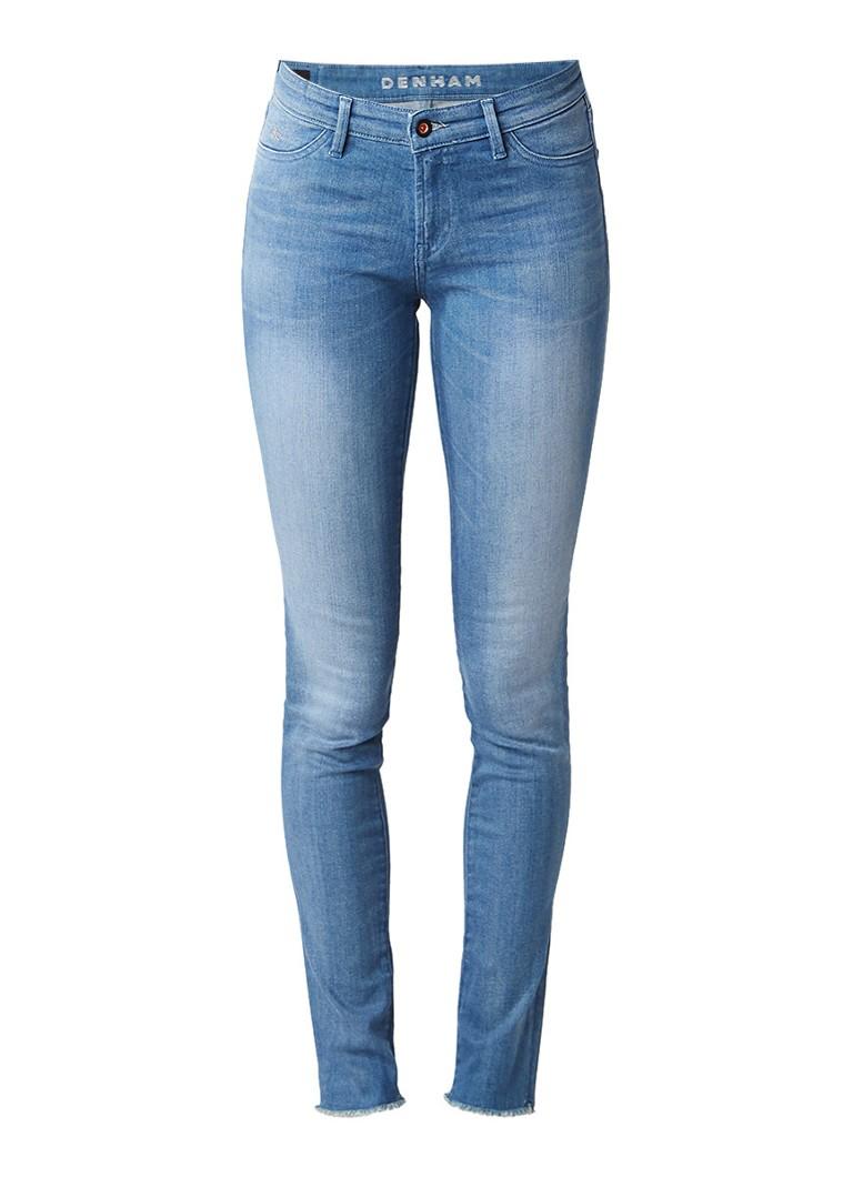 Denham Spray super tight fit skinny jeans met gerafelde zoom