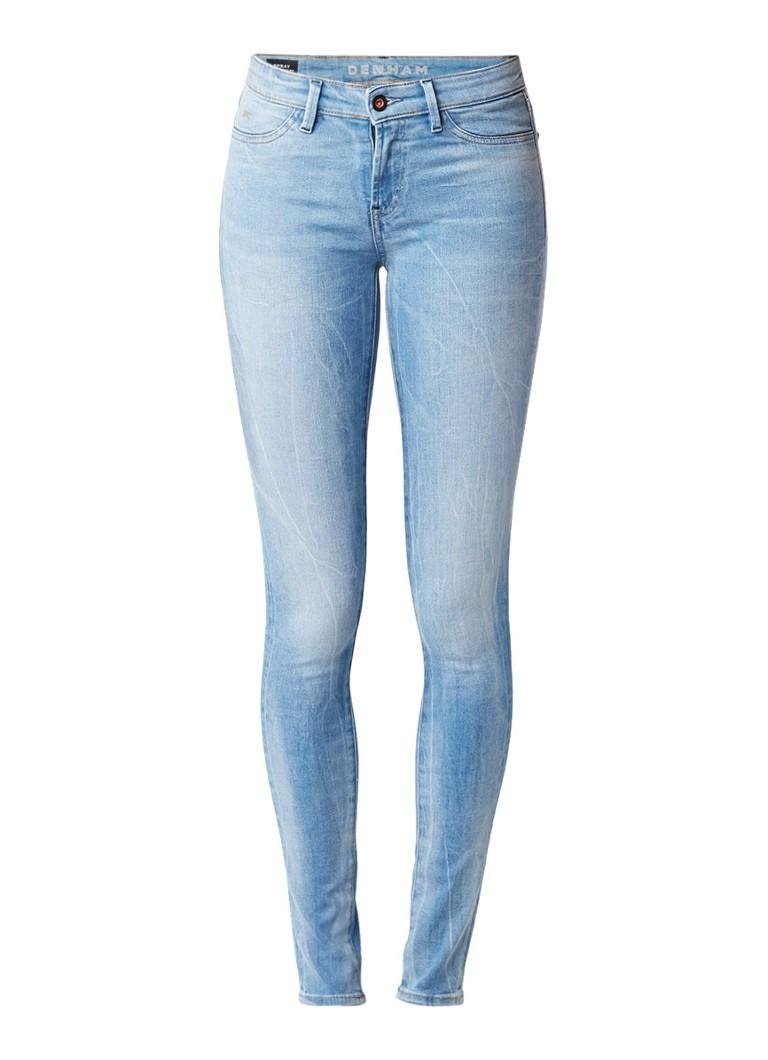 Denham Spray super tight fit skinny jeans met lichte wassing