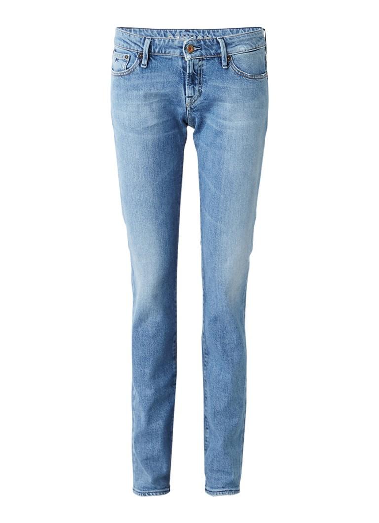 Denham Sally mid rise straight fit jeans 80's Stretch