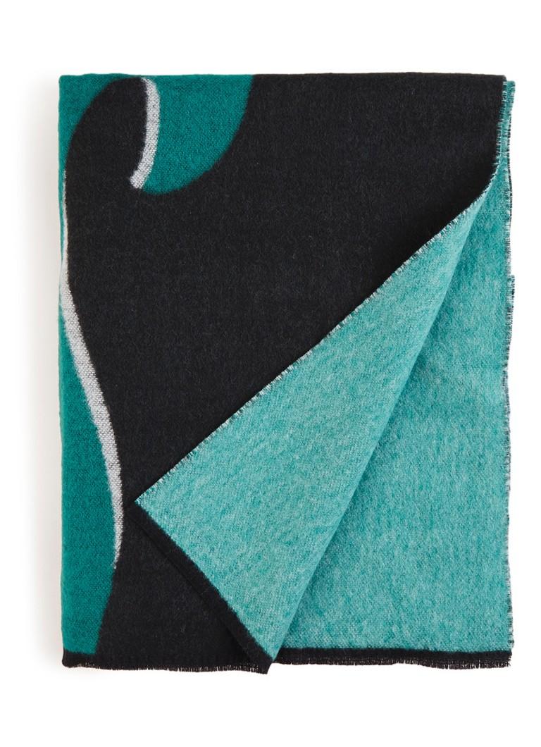 Maje Dream Tomorrow sjaal in wolblend met dessin 230 x 70 cm