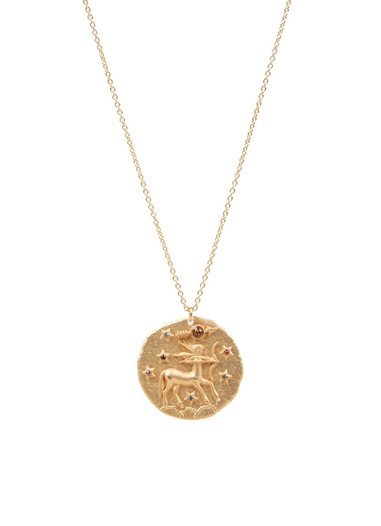 Maje Sagittarius Zodiac Sign ketting met hanger