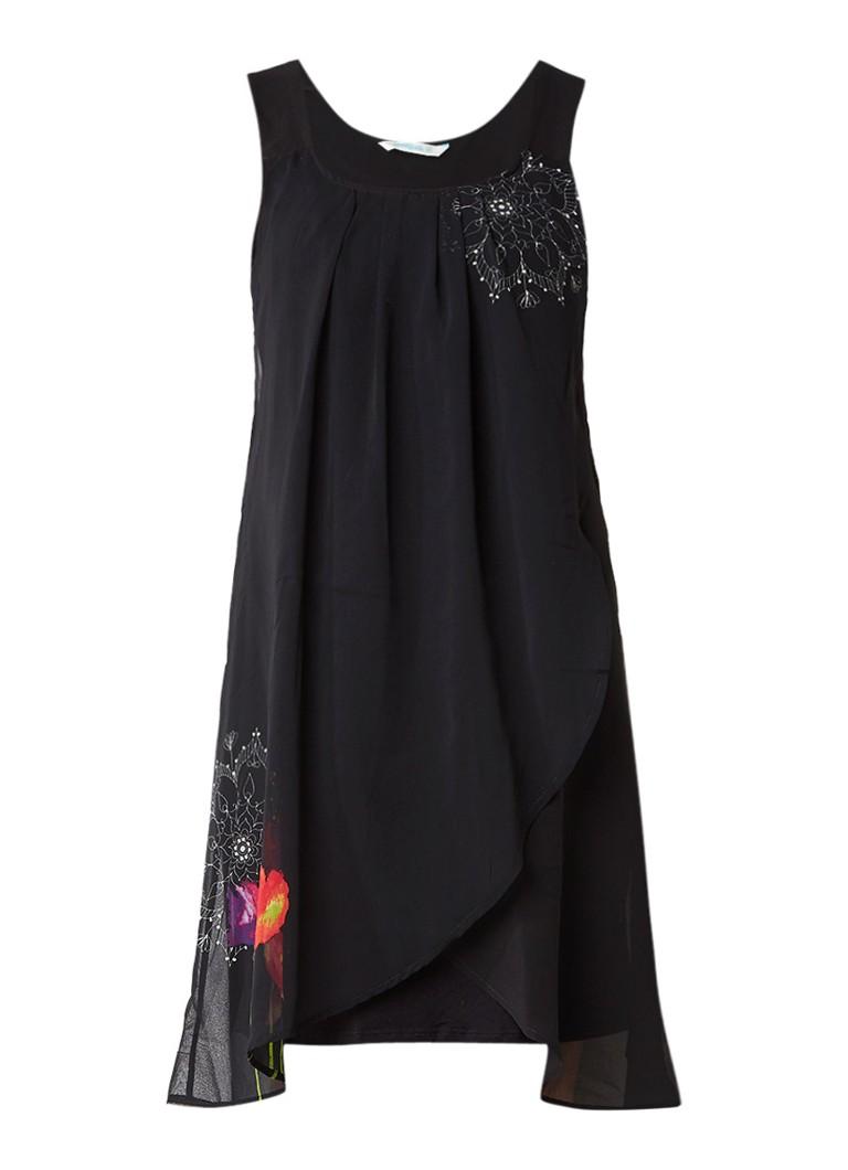 Desigual Nuri jurk met overlay