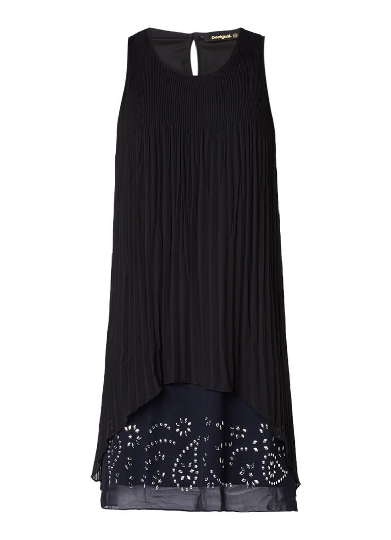 Desigual Besalu plissé jurk met