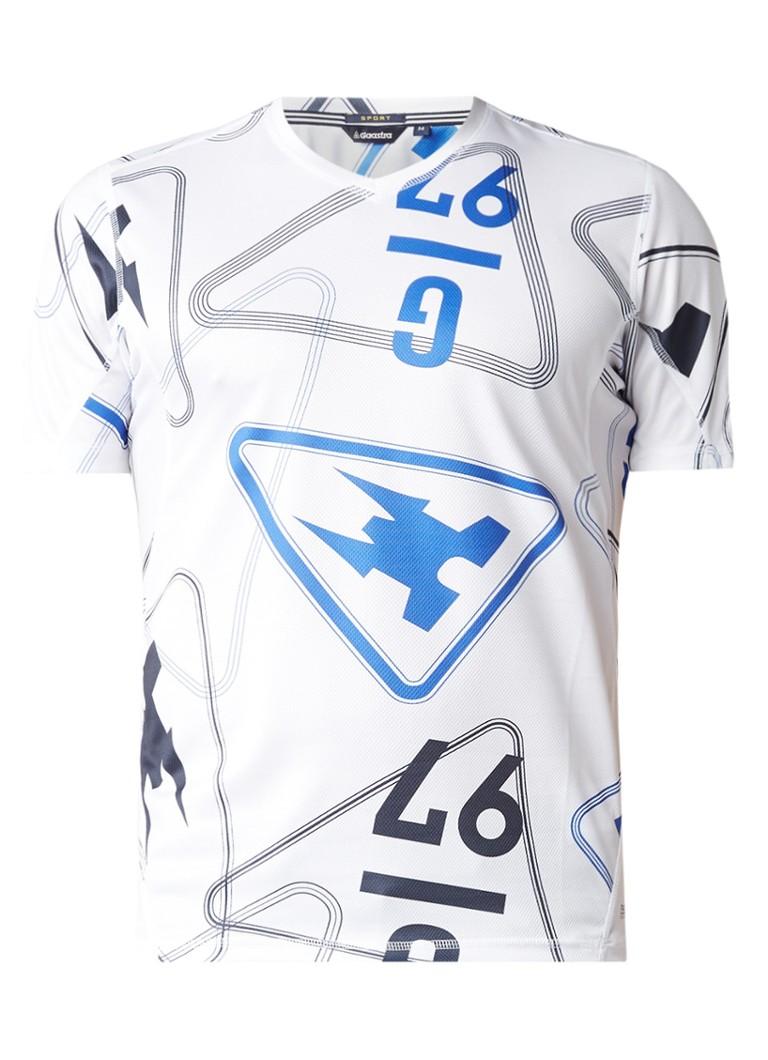 Gaastra Pression T-shirt van mesh met logoprint