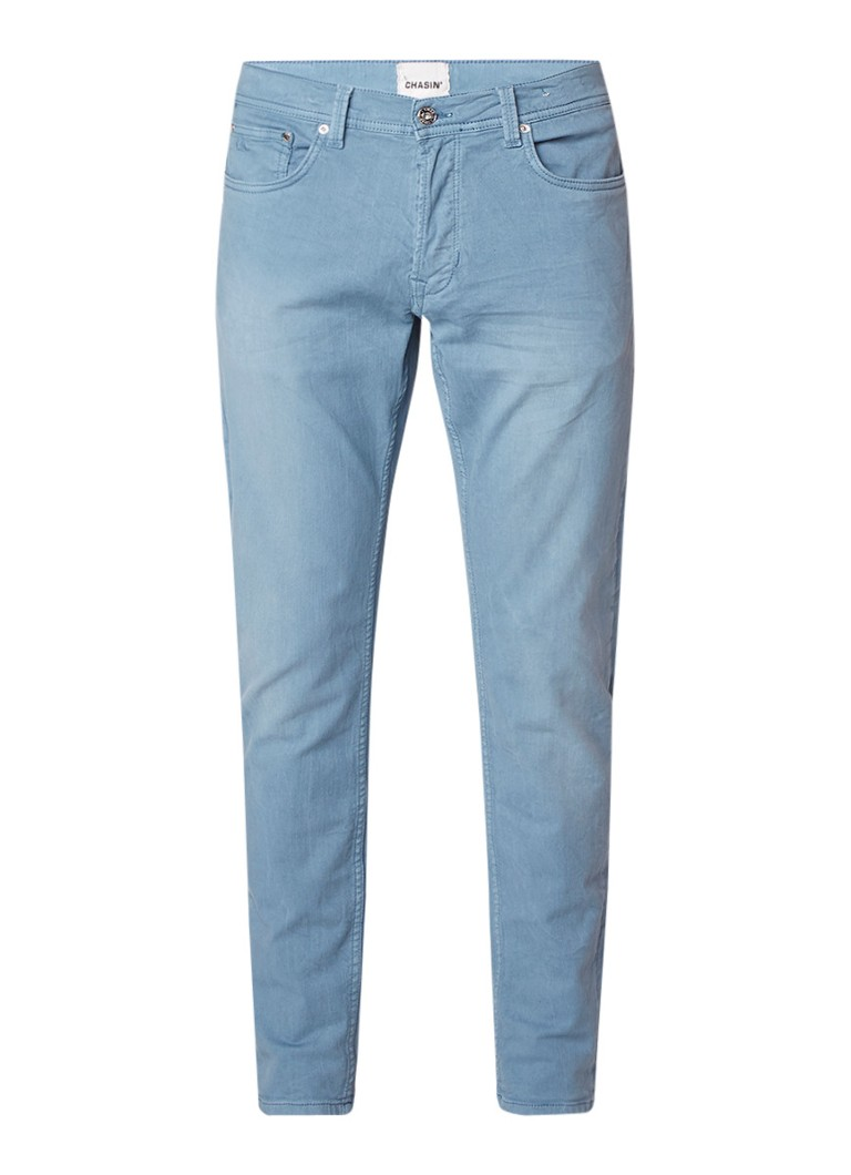 Chasin EGO L Barry slim fit jeans met faded look