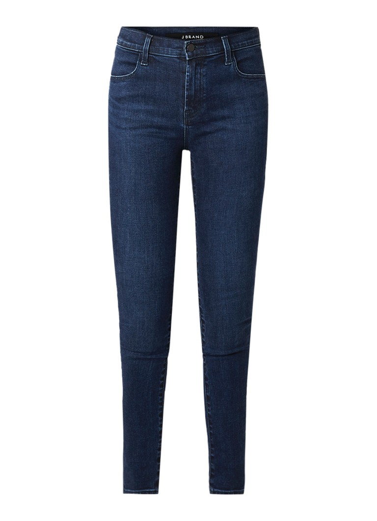 Image of J Brand Maria high rise skinny fit jeans met donkere wassing