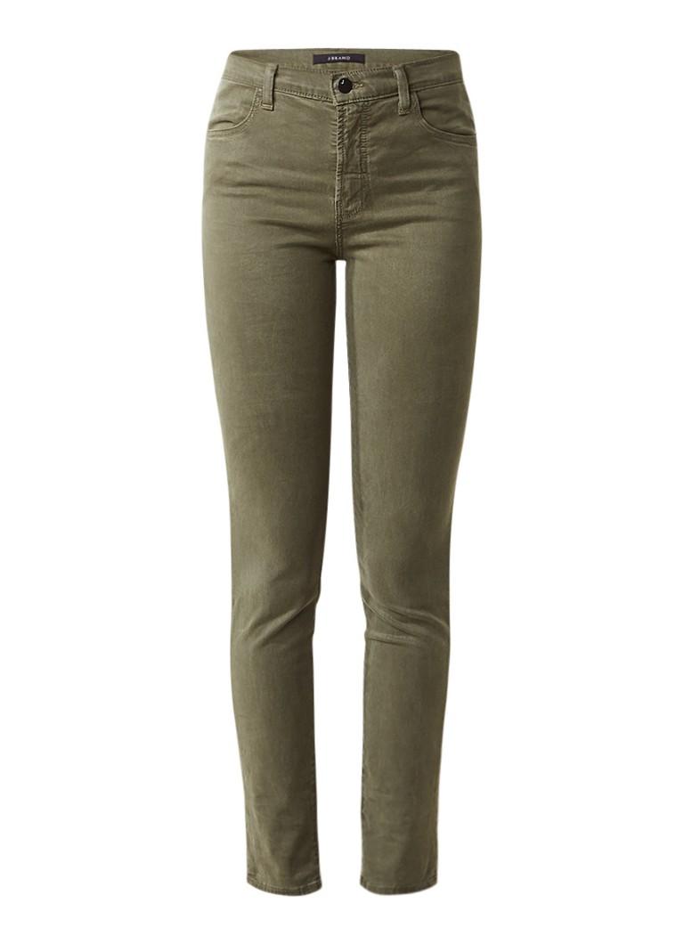 J Brand Maria high rise skinny fit jeans in gekleurde wassing