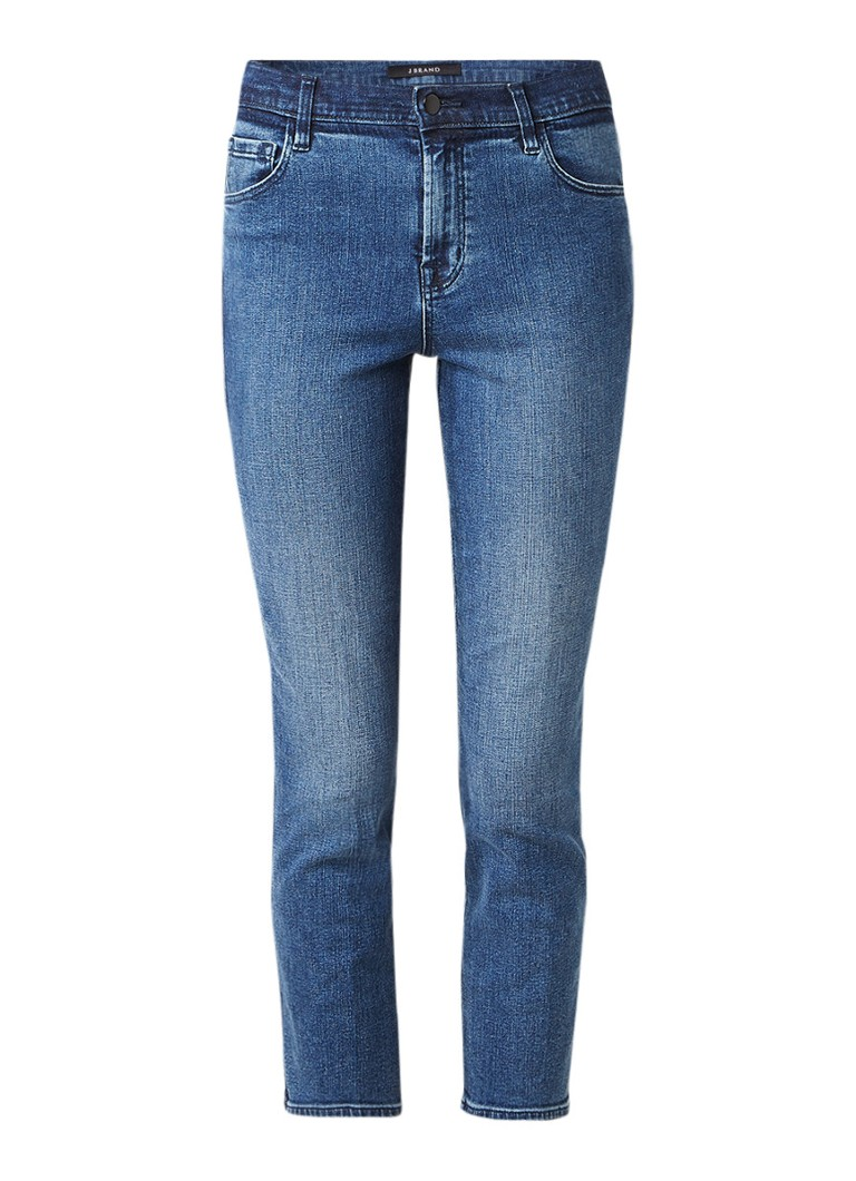 J Brand Ruby high rise cropped slim fit jeans