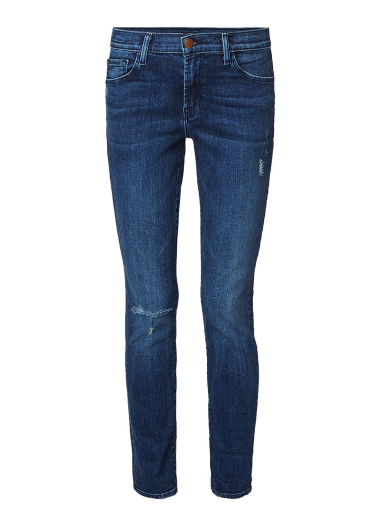 J Brand Mid rise skinny jeans in medium wassing