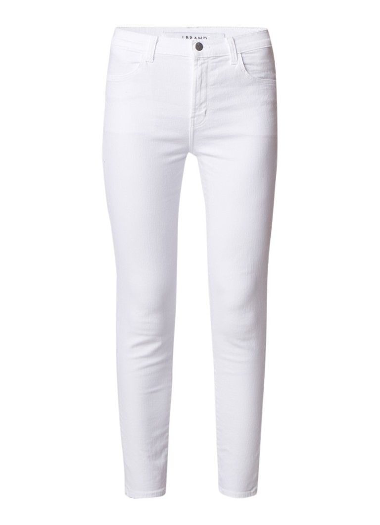 J Brand Alana high rise cropped slim fit jeans
