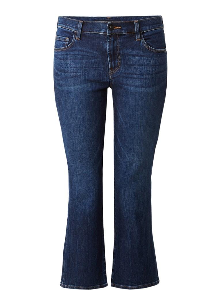J Brand Selena Crop kick flare jeans