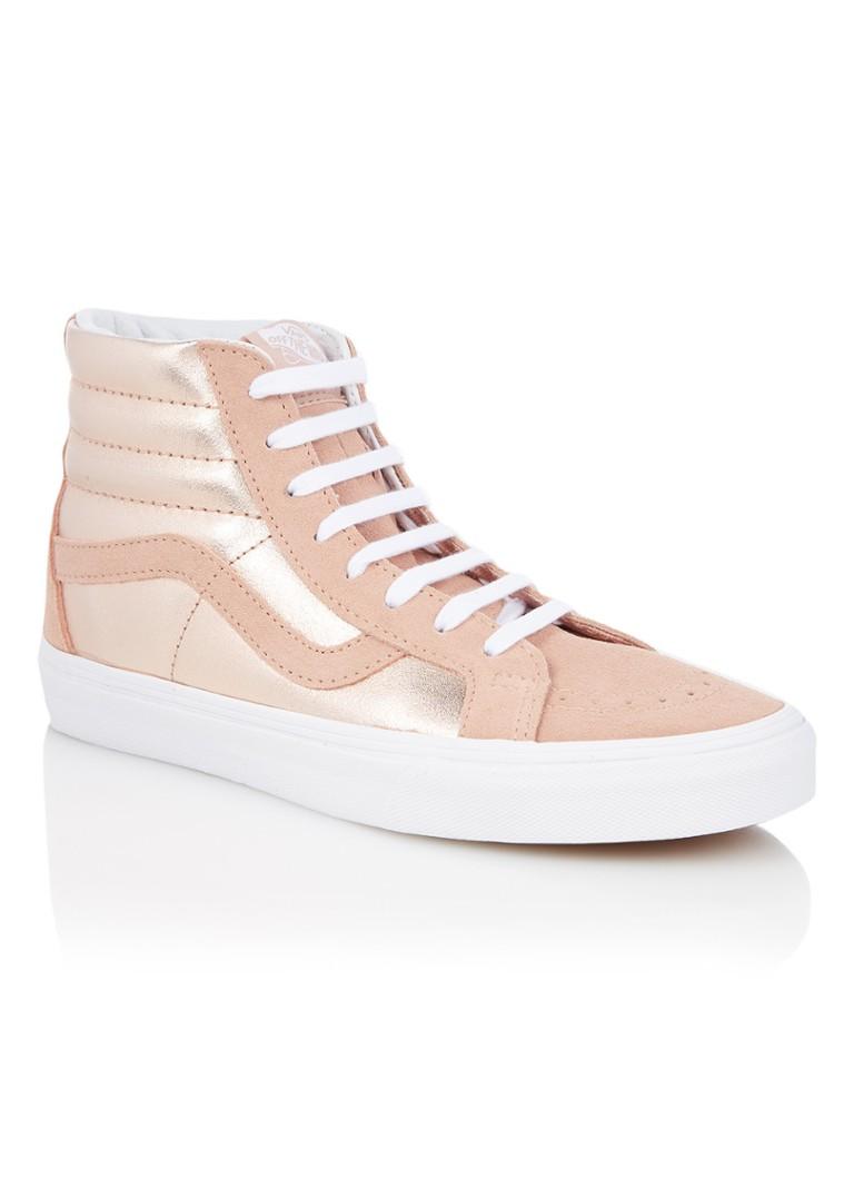 VANS Sk8-Hi sneaker met suède details en metallic finish
