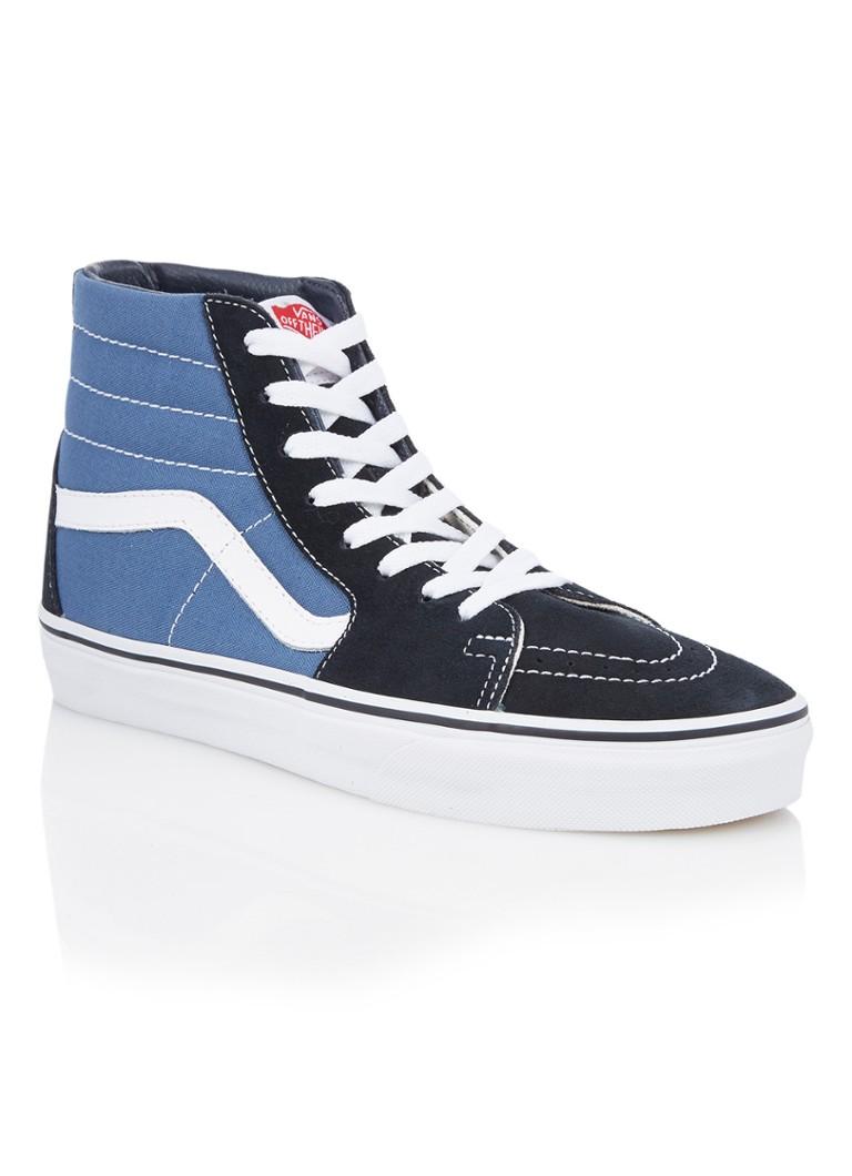 VANS SK8 Hi sneaker met suede details Blauw