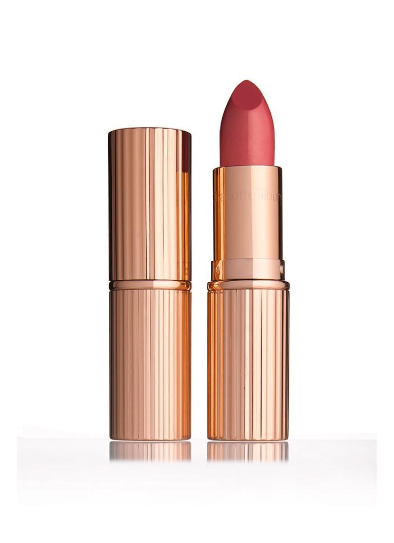 Charlotte Tilbury K I S S I N G Coachella Coral lipstick