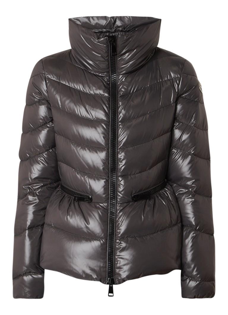 Moncler Miriel gewatteerde jas met logopatch