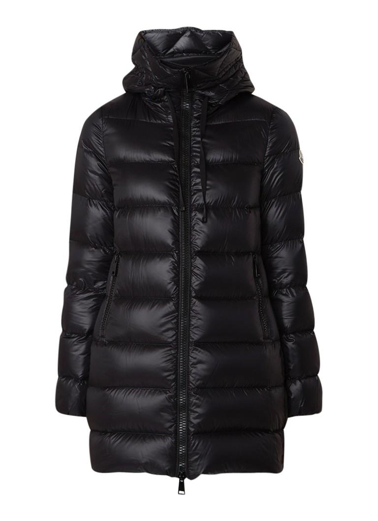 Moncler Suyen gewatteerde jas met logopatch