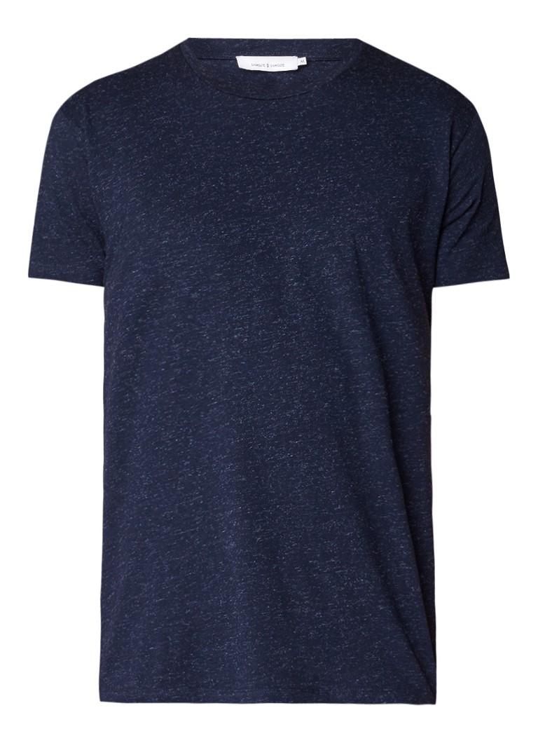 Samsøe & Samsøe Uhrskov gemêleerd T-shirt
