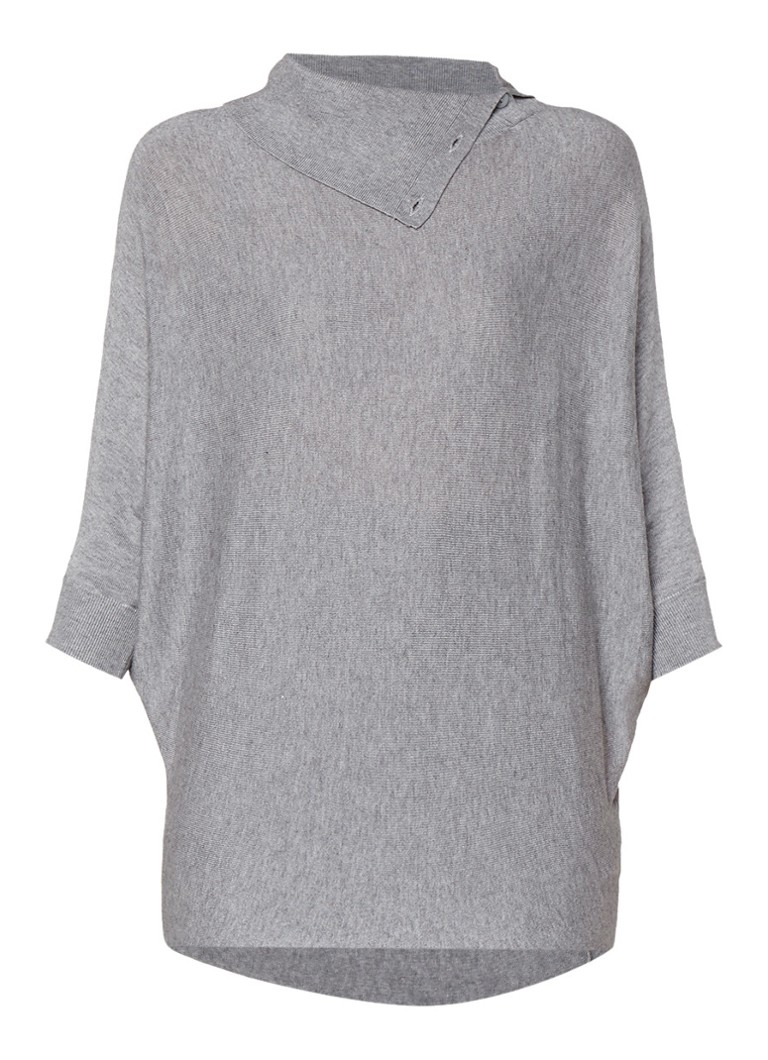 Phase Eight Becca pullover met knoopdetail wit