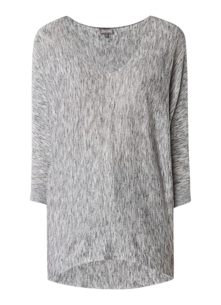 Phase Eight Becca pullover in wolblend met vleermuismouwen wit
