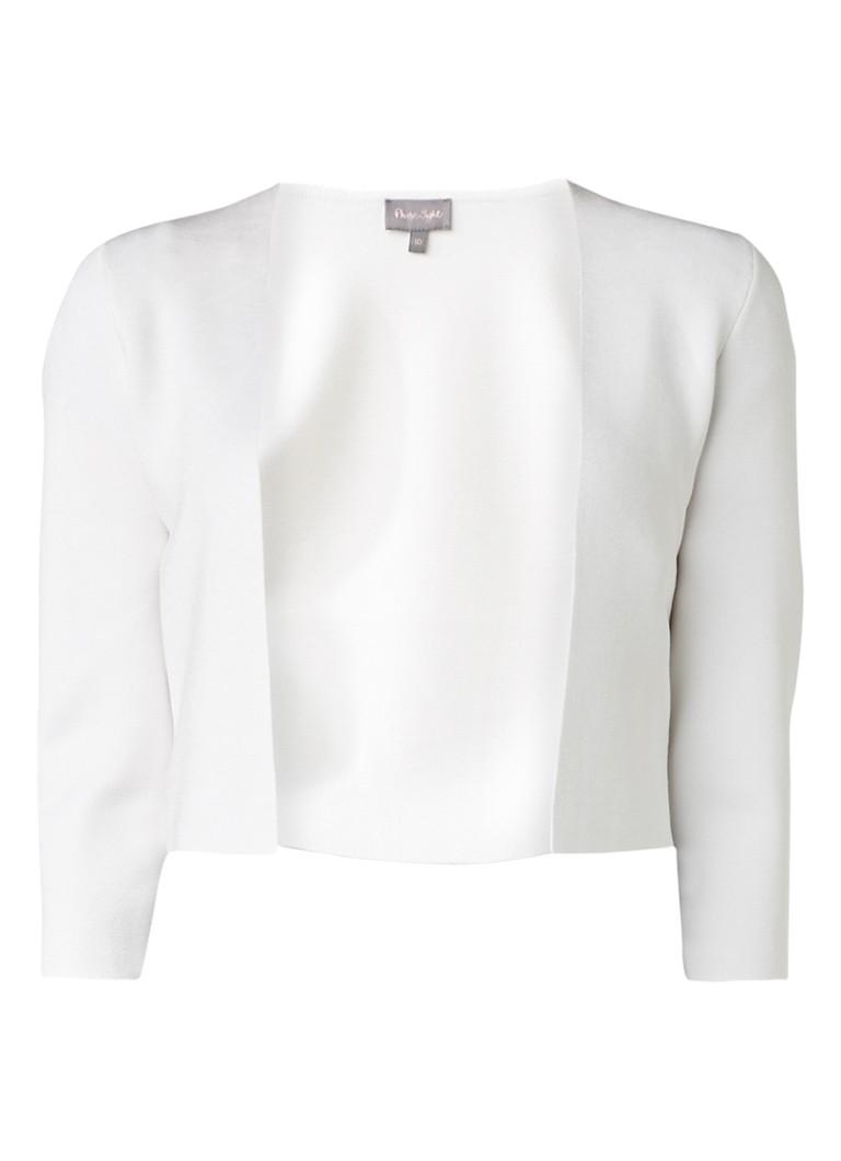Phase Eight Salma bolero van jersey wit