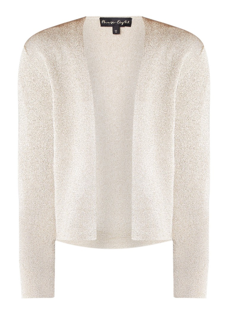 Phase Eight Shimmer Salma Jacket Champagne