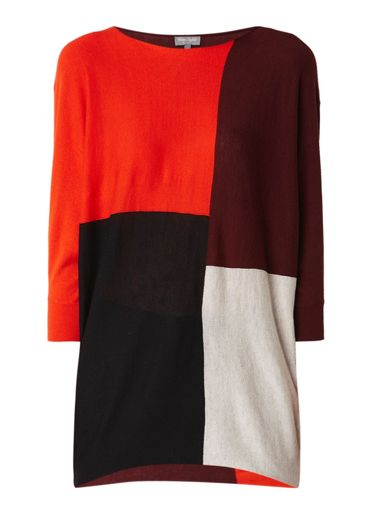 Phase Eight Becca oversized pullover met colour blocking